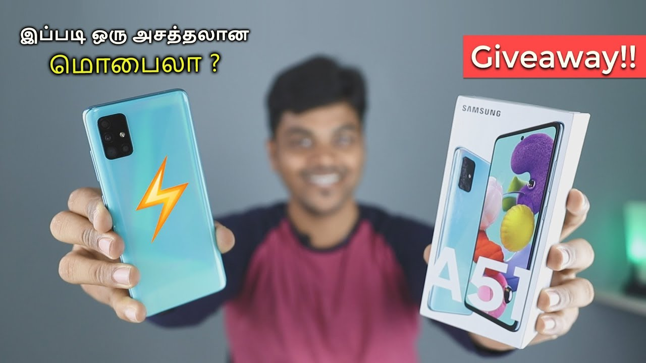 Samsung Galaxy A51 UNBOXING & GIVEAWAY 🔥🔥🔥 ¡GUAU! 🎁 + vídeo