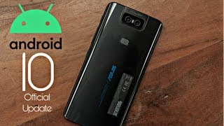 Asus Zenfone 6 Official Android 10 Update