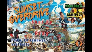 Shut Up & Play: Xbox One X Sunset Overdrive Gameplay got PS4 & PC fans salty
