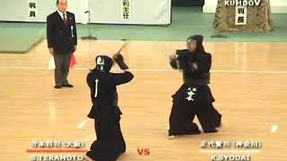 2008 Quarter-Final Shodai Kenji (56th All Japan Kendo Championship)