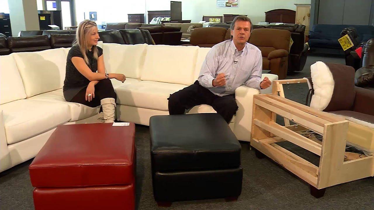 surplus rd les meubles canadiens sofa by fancy