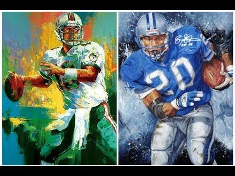 Barry Sanders vs Dan Marino (Lions vs Dolphins) 1997