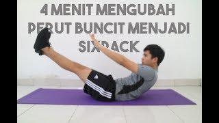 CARA MUDAH MENGECILKAN PERUT BUNCIT (Tanpa Gym)