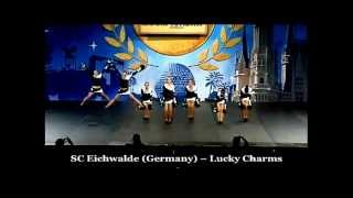 Lucky Charms Danceteam bei den All Star International Cheerleading Championships in Orlando/Florida