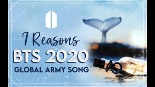 "Download 2020 Global ARMY Song ""7 Reasons"" Official MV -Gracie Ranan ft. ARMY (Turn on English CC)"