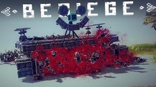 besiege best creations mechanical scorpion epic tanks smiley meat grinder