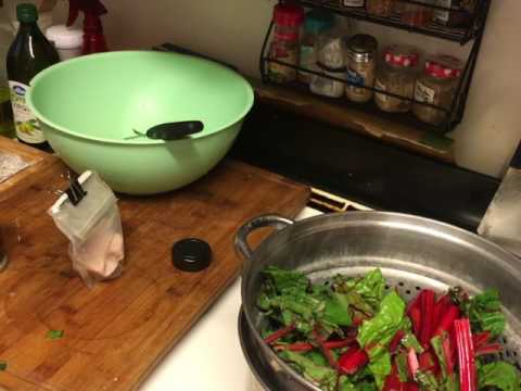 How to make swiss chard an potatoes