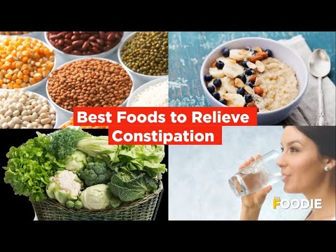 Best Food To Relieve Constipation | Best Food To Eat When You Are Constipated | The Foodie