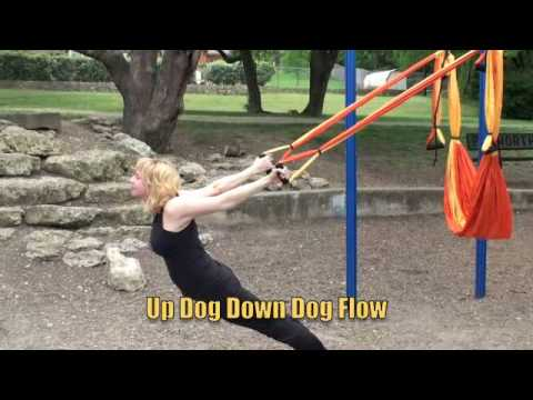 OM Gym Yoga Swing Demo