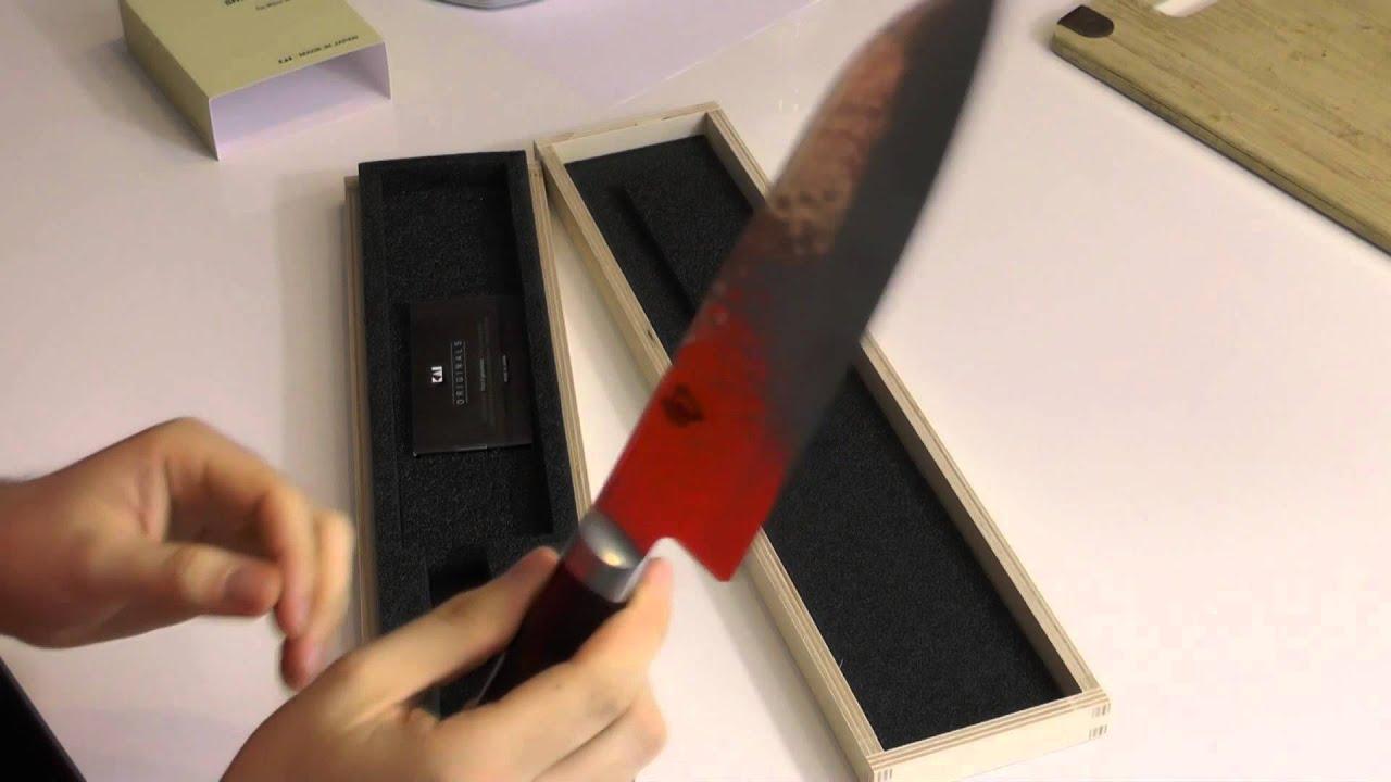 Messer Test Kai Shun Youtube
