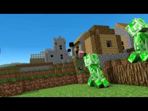Minecraft Song 🎶 | Little Square Face Part 4 |Fighting Demons By Minecraft Jams
