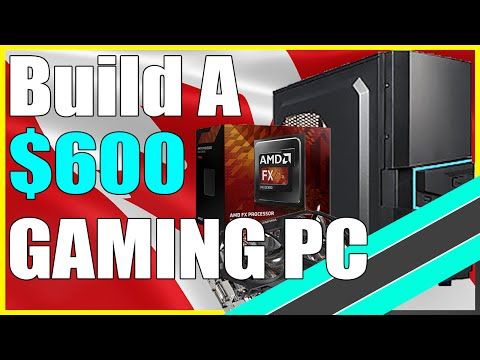 The Best $600 CANADIAN Gaming PC Build Runs All Games!