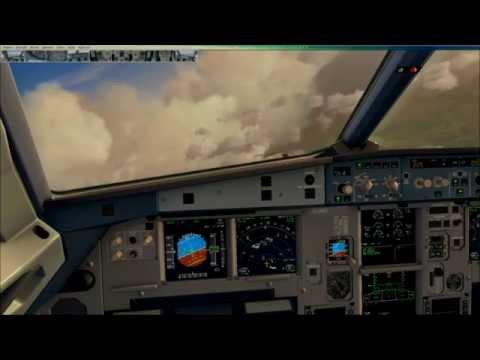 Busy Heathrow Arrival Vatsim FSX