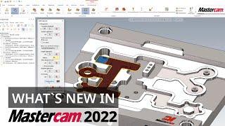 Mastercam 2022: Bereichsverkettung   CAD/CAM-Software