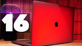 Обзор MacBook Pro 16 в базе и сравнение с топовым MacBook Pro 15!