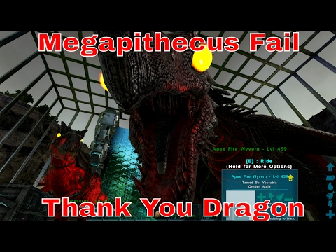 Ark: Megapithecus Fail - This is Why you DONT Spawn Bosses