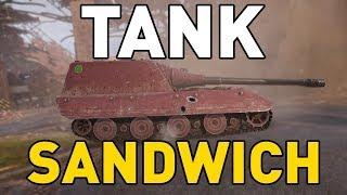 World of Tanks || TANK SANDWICH!