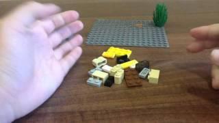 Как сделать сундук, верстак, наковальню Майнкрафт из Лего