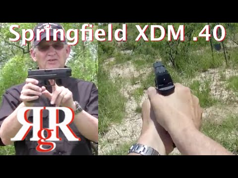 Springfield XDM .40 / 4.5 On the Range Review