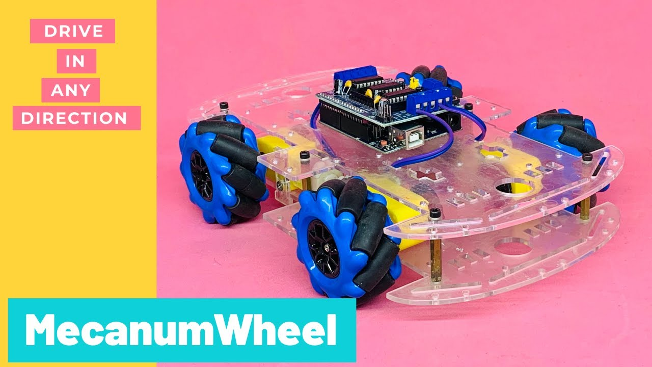 How to make Bluetooth controlled car with Mecanum wheel | Indian LifeHacker