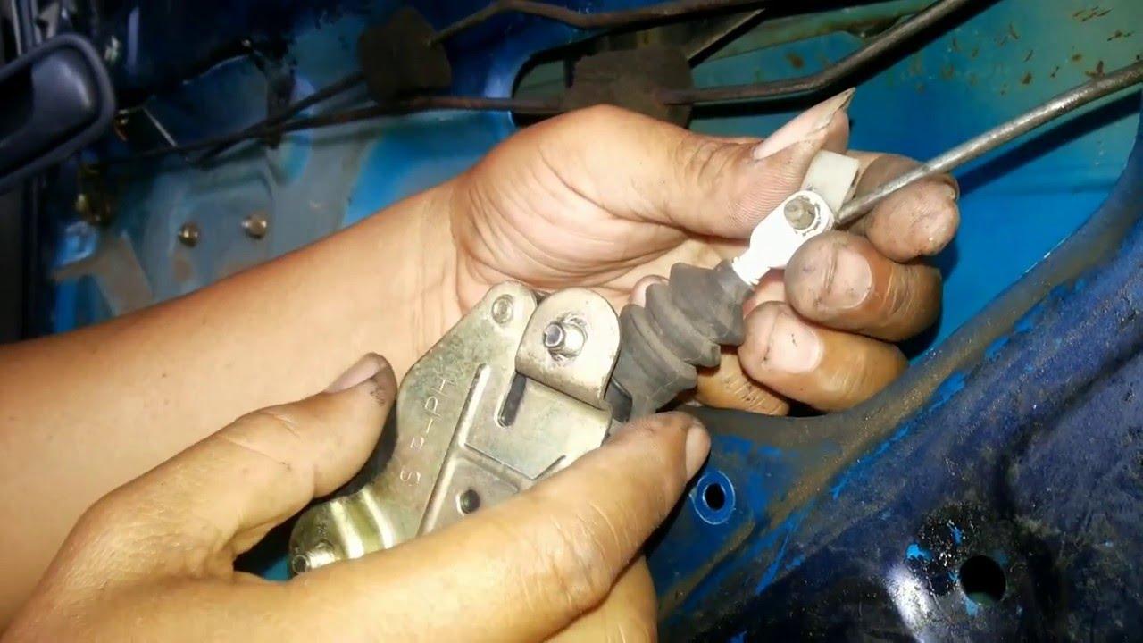 Memperbaiki Central Lock Mobil Timor Youtube