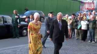 Kongefamilien til galla i Det Kongelige Teater