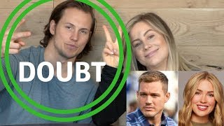 the bachelor: cassie + colton | why doubt is normal in a relationship | shawn johnson + andrew east