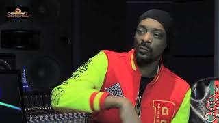 Snoop Dogg talks new gospel album 'Bible of Love' (pt3of 3)