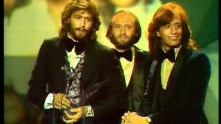 The Bee Gees Win Favorite Pop/Rock Group - AMA 1979