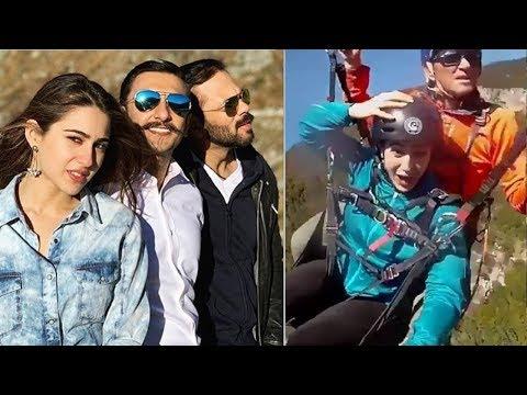 Sara Ali Khan Shooting for Movie Simba With Ranveer Singh in Switzerland