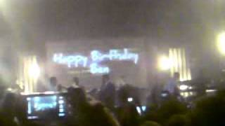 Plan B Live At The O2 Academy [Birmingham] *SINGING HAPPY BIRTHDAY TO HIM* 22nd of October 2010