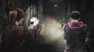 Resident Evil: Revelations 2 gameplay video introduce attacking, controls and menus