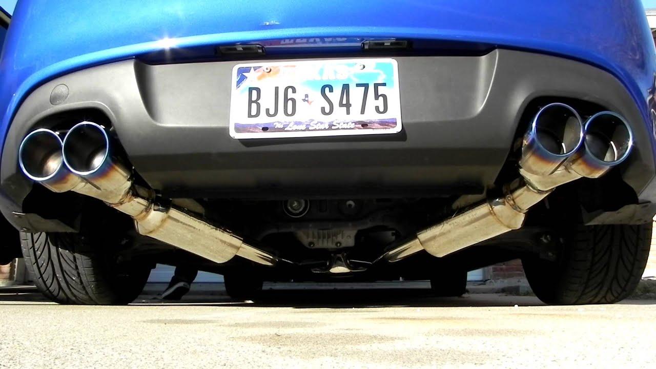 Genesis Coupe 3 8 Injen Exhaust Youtube