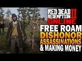 RDR2 Online Dishonorable Free Roam, Assassinations & More - Red Dead Redemption 2 Online [RDR2]