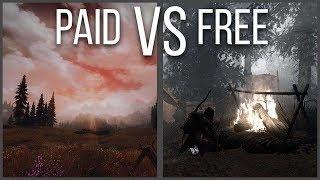 Skyrim Survival - Paid vs Free - Creation Club