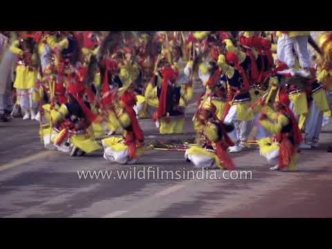 Contingent from South Central Zone Cultural Centre, Nagpur presents Baredi Folk dance