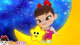 라임의 반짝 반짝 작은별 twinkle twinkle little star LimeTube with song | القوافي الحضانة