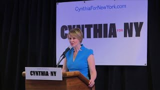 'Sex and the City' star makes first campaign stop in Brooklyn