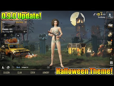 Pubg Mobile 0.9.0 Update Is Here | New Halloween Theme Is Coming | 0.9.0 Beta Update