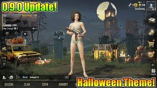 Pubg Mobile 0.9.0 Update Is Here   New Halloween Theme Is Coming   0.9.0 Beta Update
