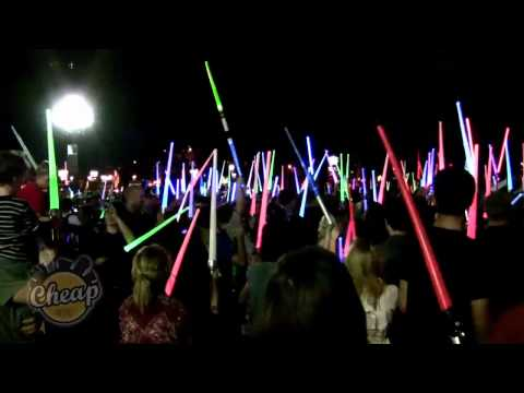 NYC Lightsaber Battle 2011