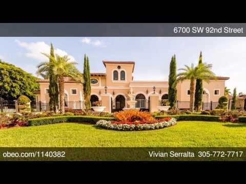 6700 SW 92nd Street Pinecrest FL 33156 - Vivian Serralta - EWM Realty - Coral Gables