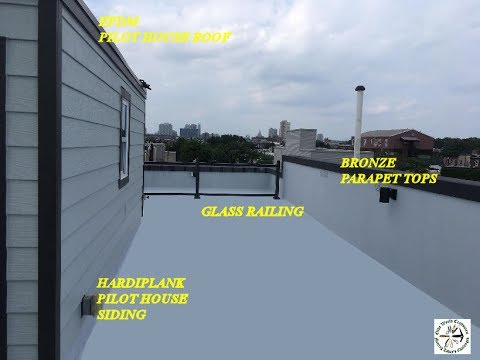 South Philly Fiberglass Roof Deck Disaster Youtube
