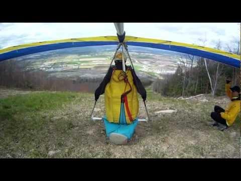 Hang Gliding at Pleasant Gap 4-12-2012 Will Perez