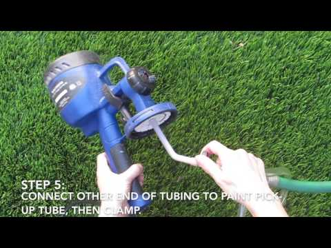 How to Use the Rapid Clean for the Finish Max Sprayer