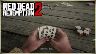 HOW TO PLAY POKER!! RED DEAD REDEMPTION 2 TIPS AND TRICKS - THE RULES OF POKER HOW TO WIN