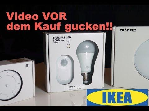 TRADFRI - IKEAS HUE KONKURRENT IM TEST! - YouTube