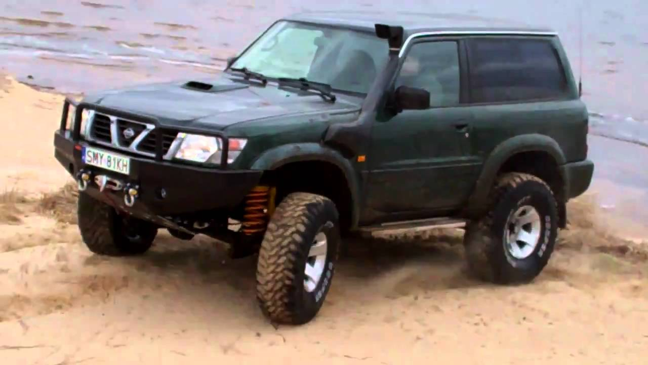 4x4 nissan patrol gr off road maslonskie youtube. Black Bedroom Furniture Sets. Home Design Ideas