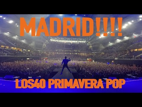 MADRID I LOS40 PRIMAVERA POP- OSCAR MARTINEZ