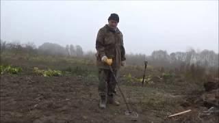 тест в земле самодельной катушки а ля нел торнадо и штатной для асе 250  часть 2